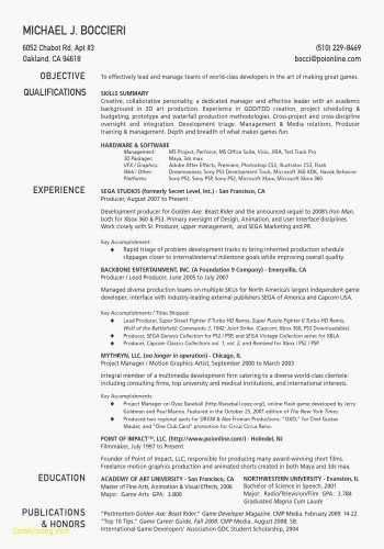 Mock Resume Templates by Exle Of Cover Letter For Resume New Mock Resume