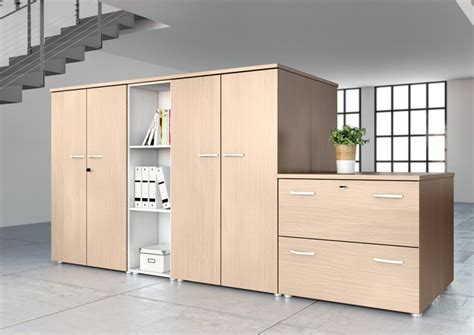buronomic wooden storage cupboards mm wide