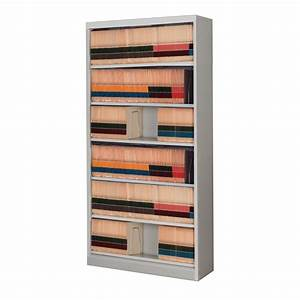 6 level side tab open shelf file cabinet filing cabinets With document shelf