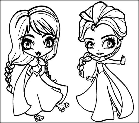 frozen anna  elsa coloring pages coloring home