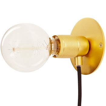 frama e27 wall light small brass finnish design shop