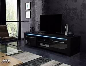 Lowboard Schwarz Matt : tv schrank lowboard sideboard conoy mit led schwarz matt schwarz hochglanz 0 m bel24 ~ Sanjose-hotels-ca.com Haus und Dekorationen