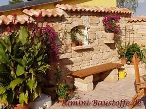 Gartengestaltung Toskana Stil : gartenmauer mediterran verputzt teja curva dieser mnch ~ Articles-book.com Haus und Dekorationen
