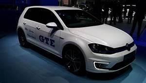 Hybride Auto Rechargeable : golf gte la compacte hybride rechargeable de volkswagen au mondial de l auto ~ Medecine-chirurgie-esthetiques.com Avis de Voitures