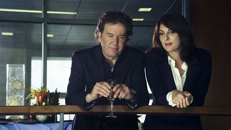 timothy hutton salary per episode leverage catching up with the double blind job