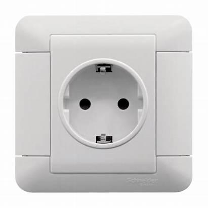Socket Electric Schneider Sockets Power Switches Schuko