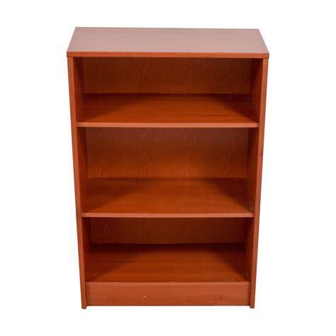 Bookcase Store by 74 Three Shelf Wood Bookcase Storage