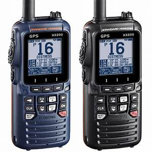 Standard Horizon Hx890e Handheld Vhf Radio With Dsc And Gps