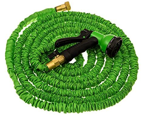 expandable garden hose 50ft expandable garden hose water hose solid brass ends 8