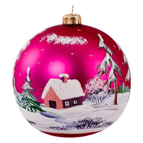 single glass ball ornament producer mark