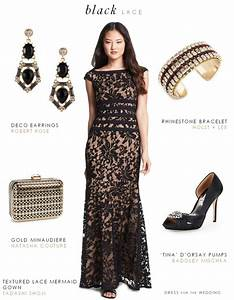 is it okay for the mother of the bride to wear black With jewelry to wear with black dress for wedding