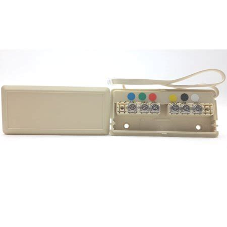 Leviton Telephone Wire Junction Box Ivory