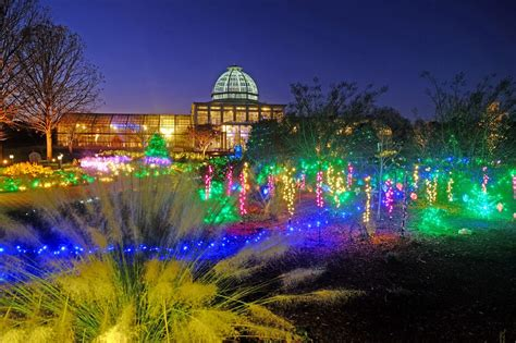 dominion gardenfest of lights at lewis ginter botanical garden
