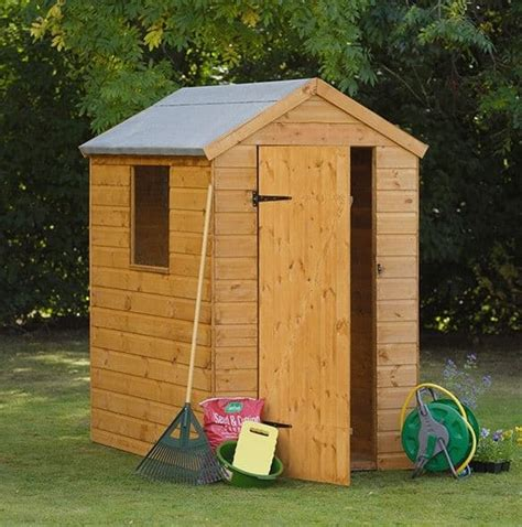 shiplap shed 6x4 hartwood 6 x 4 fsc shiplap apex shed what shed