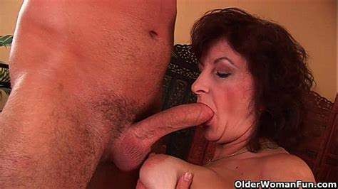 Grandma with big tits and hairy pussy gets facial   XVIDEOS COM