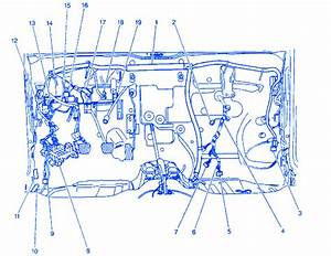 Chevrolet Metro L4 2000 Junction Box Electrical Circuit Wiring Diagram  U00bb Carfusebox