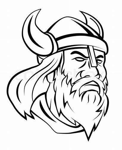 Viking Head Vektor Vecteur Vikingo Af Vikings