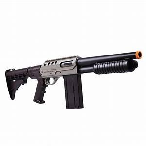 Rifle De Press U00e3o Manual Shotgun Marines 6 Mm Airsoft