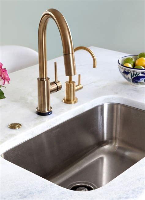 delta trinsic faucet  champagne bronze kitchen