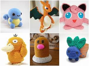 11 x Crochet Pattern Pokemon GO [Free] DIY