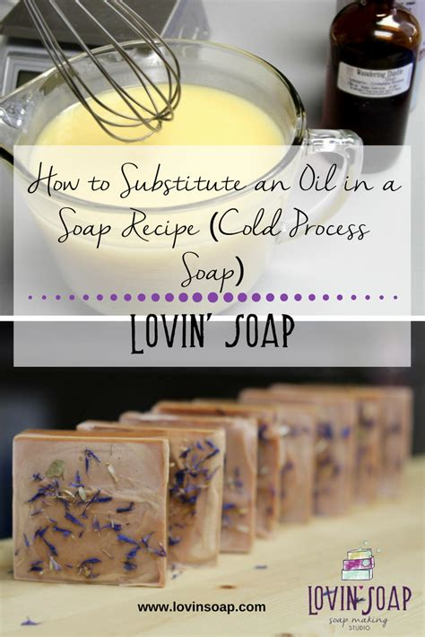 substitute  oil   soap recipe cold process