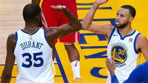 Warriors vs. Rockets Game 3: Kevin Durant gives Stephen ...