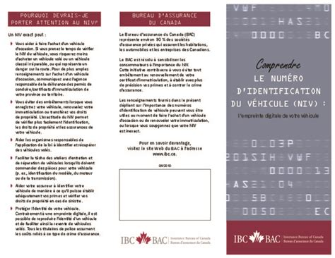 bureau d assurance du canada fiche identification vehicule pdf notice manuel d