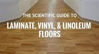how to clean laminate vinyl or linoleum floors