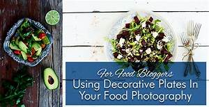 Using Decorative Plates In Your Food Photography | Glamorously Vintage
