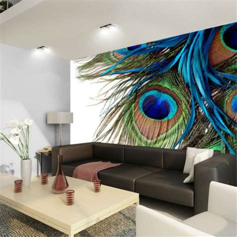 peacock feather clipart art  full wall mural photo
