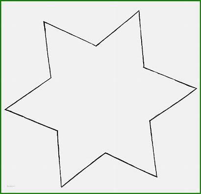 Stern Vorlage Zum Ausdrucken A4 Ausmalen Zacken