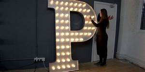 17 best images about bulb signs on pinterest ace hotel With giant letters with light bulbs