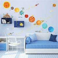 interesting kidsroom wall mural These Educational Wall Ideas are Perfect for Kids ...