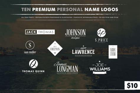 10 Personal Name Logos