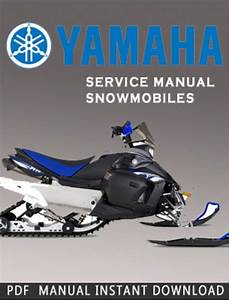 Yamaha Exciter L  C Ex570l Snowmobile Service Repair Manual