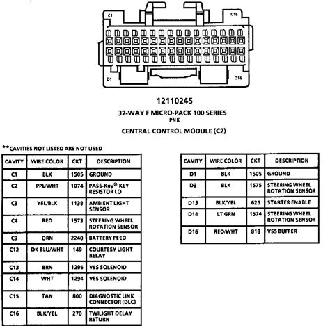 1993 Fleetwood Wiring Diagram by I Need The Wiring Diagram For The Tdm Module On My 1993