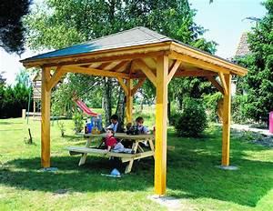 Tonnelle En Bambou : tonnelle en bois pour jardin 1 tonnelles en bois pour ~ Premium-room.com Idées de Décoration