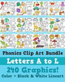alphabet clip art bundle letters   clip art