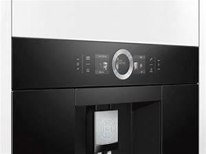 Einbau Kaffeevollautomat Bosch : bosch ctl636eb6 einbau espresso kaffeevollautomat schwarz ~ Michelbontemps.com Haus und Dekorationen