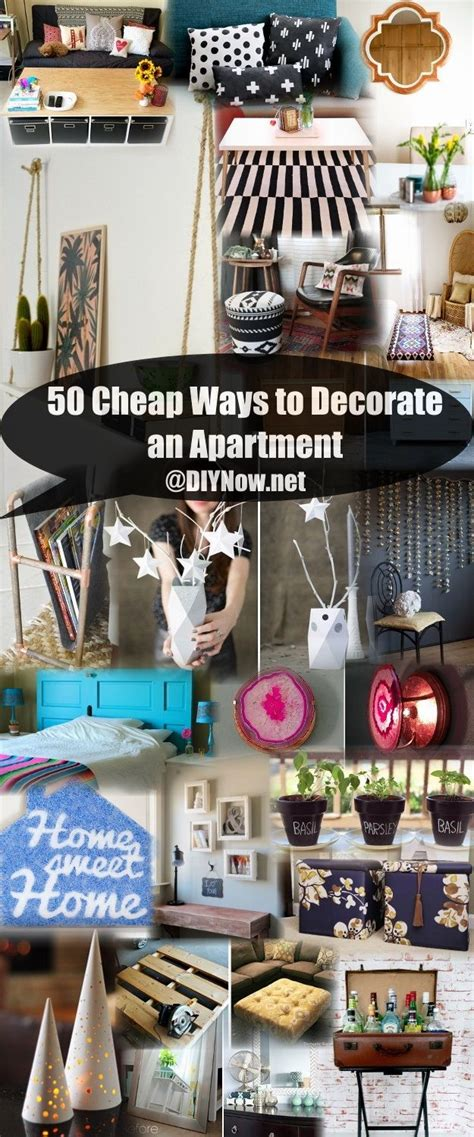 50 Cheap Ways To Decorate An Apartment Diynownet