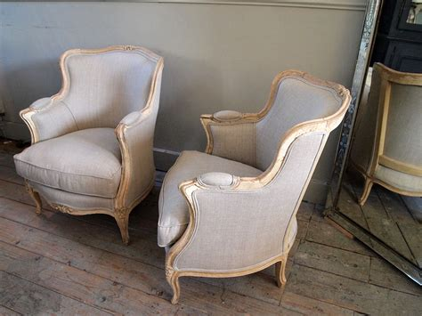 Pair Of French Antique Tub Armchairs › Puckhaber