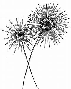 Black and white drawing - simple, modern (etsy seller ...