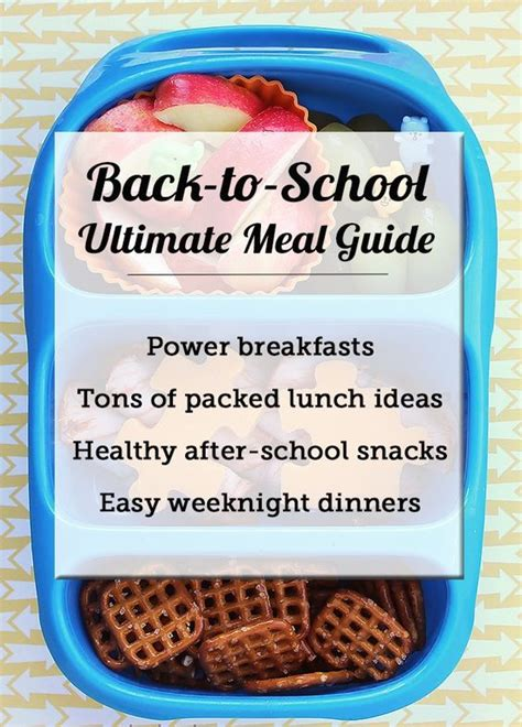 easy cing lunch ideas ultimate resource guide healthy back to school eating packed lunch ideas power breakfast and