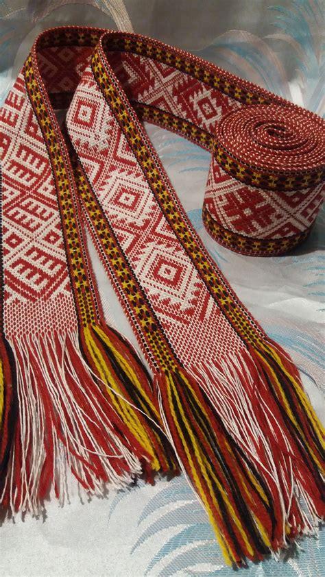 Krustpils josta   Weaving, Loom weaving, Inkle loom