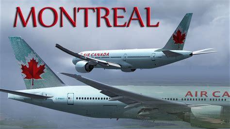 bureau air canada montreal fsx air canada 777 200lr to montréal