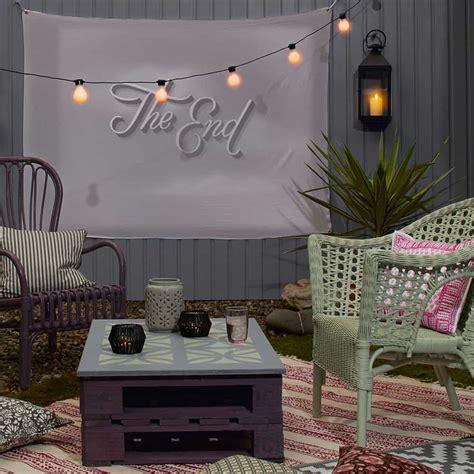 diy outdoor  screen ideas   magical backyard