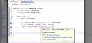 How To Use Adapter Classes When Programming In Java  U00ab Java