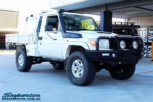 Toyota 79 Series Landcruiser White Single Cab  85834