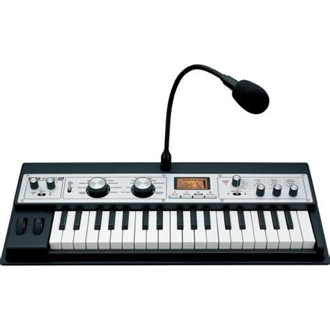 mini keyboard piano korg microkorg xl analog modeling synthesizer with vocoder black review