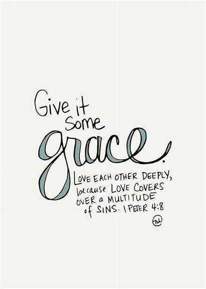 Grace Quotes Printable Bible Verses Give Verse